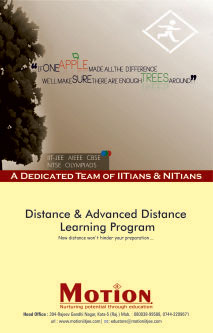 distance learning for iit jee